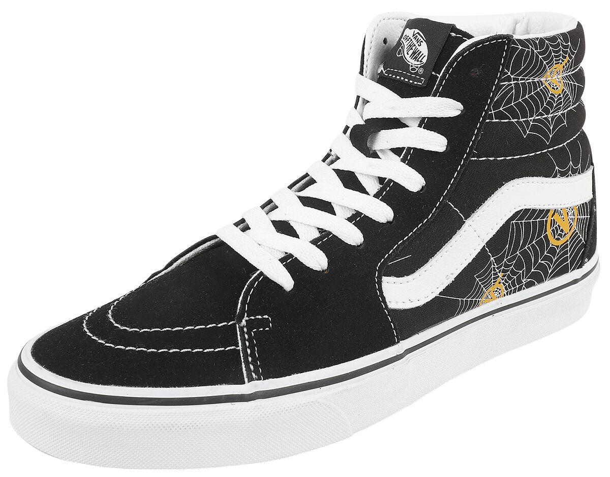 Vans SK8-Hi Printed Sneaker high schwarz VN0A32QG4RN1, white box plaid