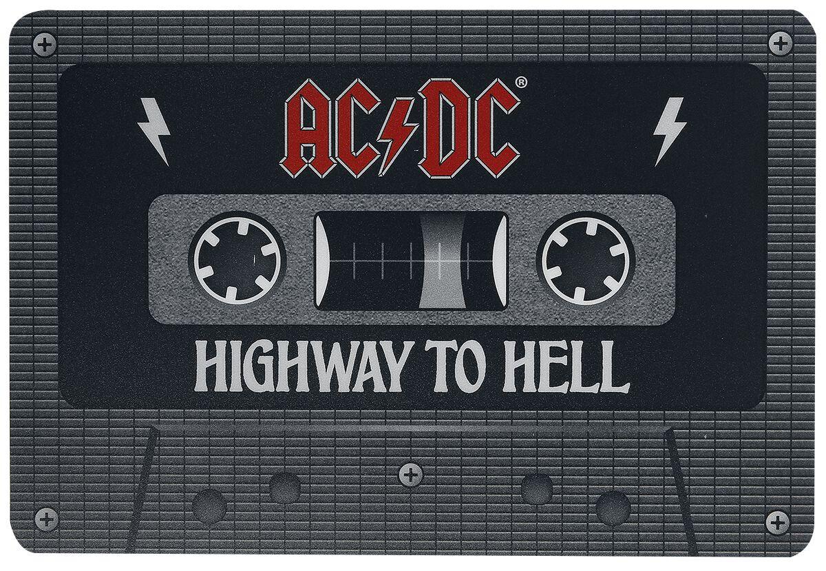 AC/DC Tape  Mouse-Pad  multicolor