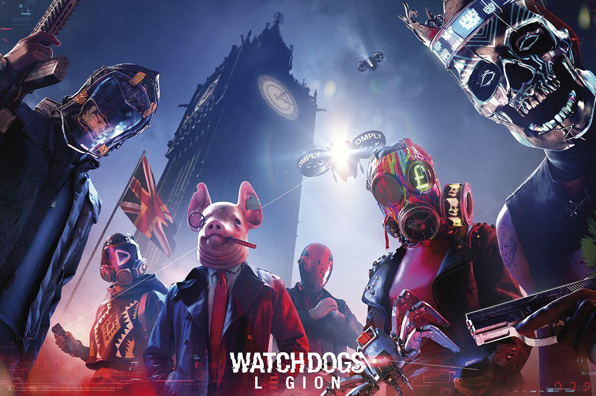 Watch Dogs 3 - Legion - Keyart Legion powered by EMP
