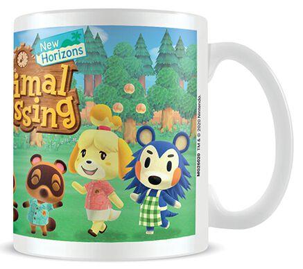 Image of Animal Crossing Lineup Tasse weiß