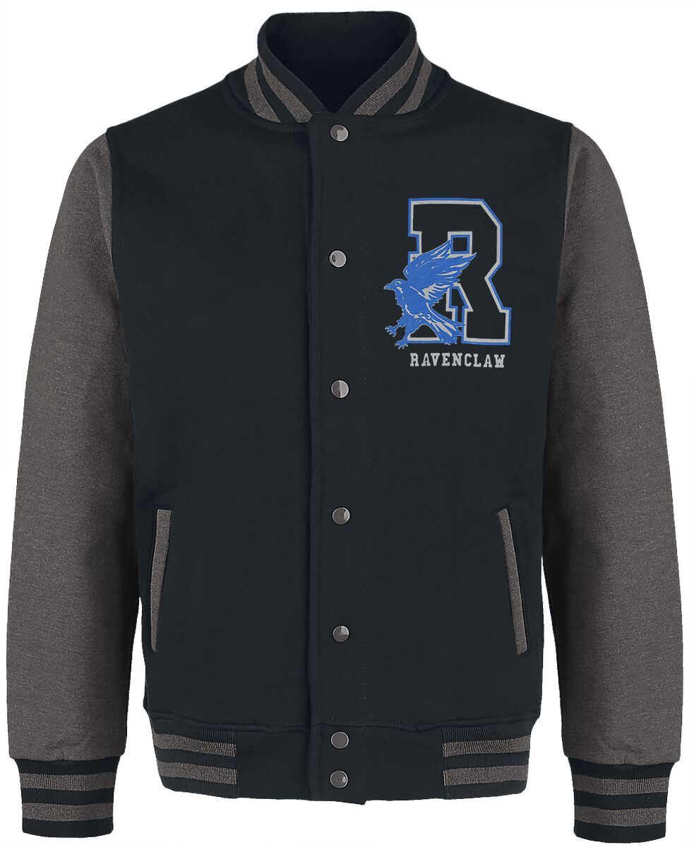 Image of Harry Potter Ravenclaw - Quidditch College-Jacke schwarz/grau meliert