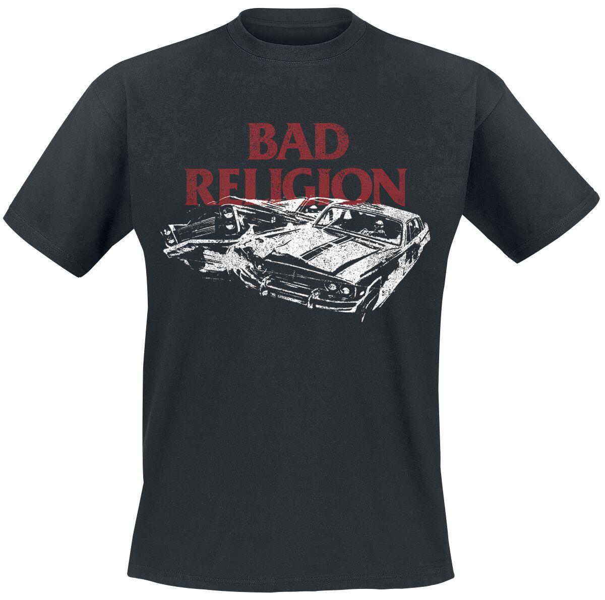 Image of Bad Religion Car Crash T-Shirt schwarz