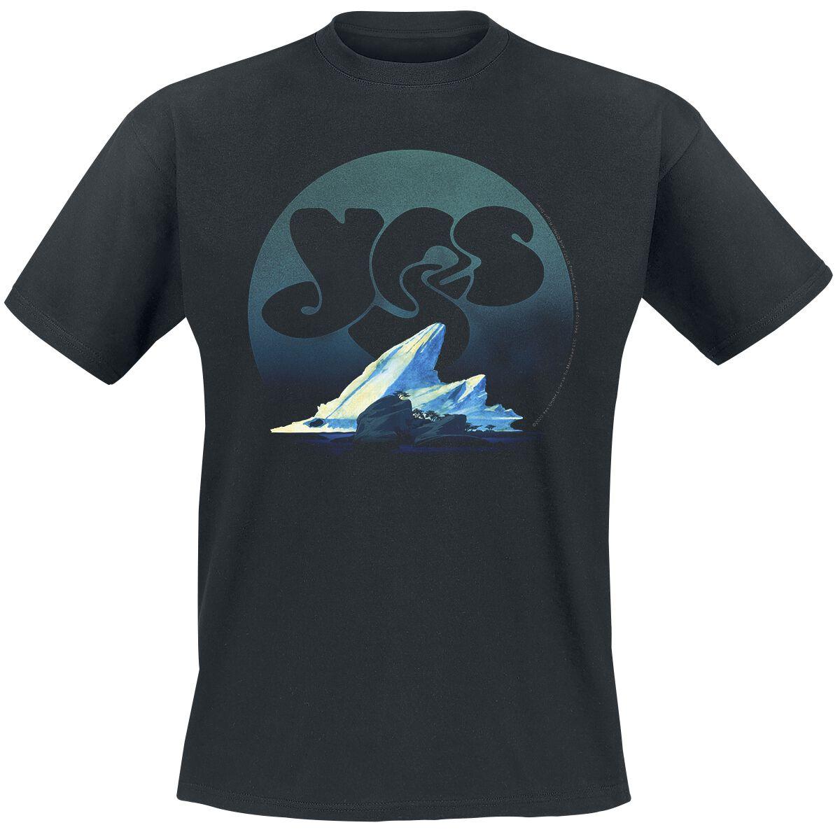 Yes Drama T-Shirt schwarz