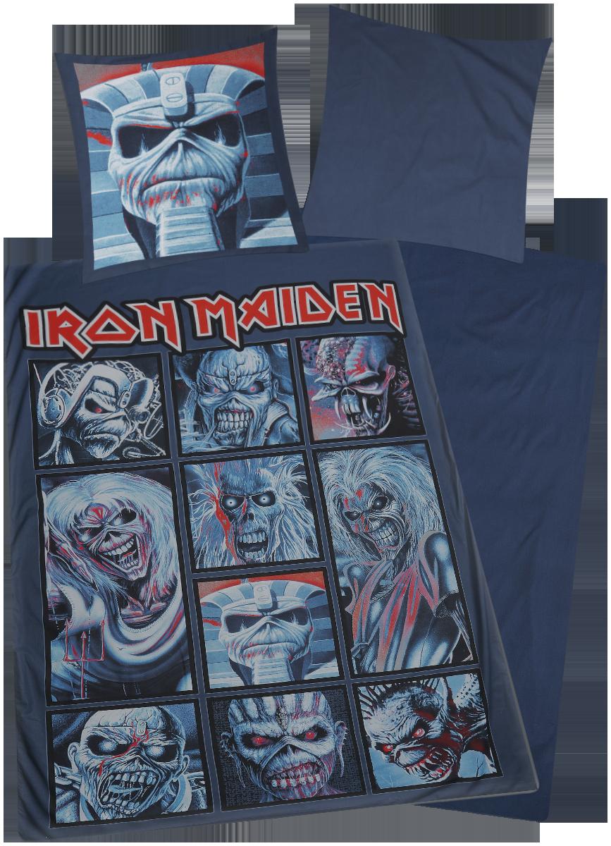 Iron Maiden - Eddies - Bettwäsche - multicolor