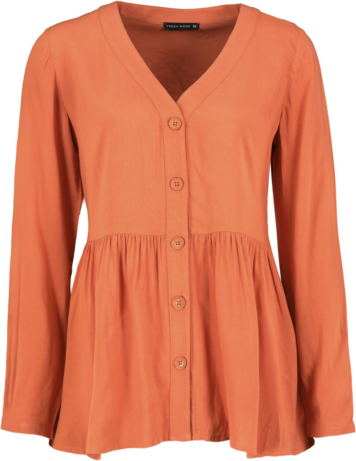 Image of Fresh Made Ladies Blouse Bluse rot
