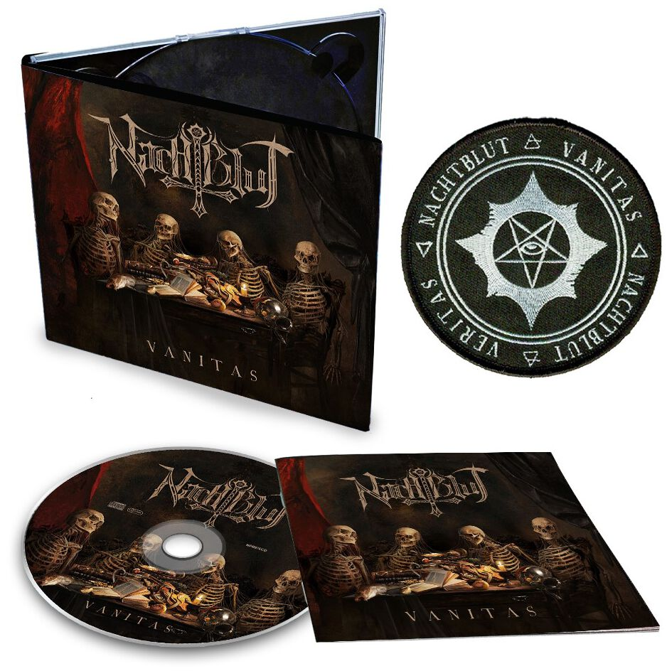 Image of Nachtblut Vanitas CD & Patch Standard