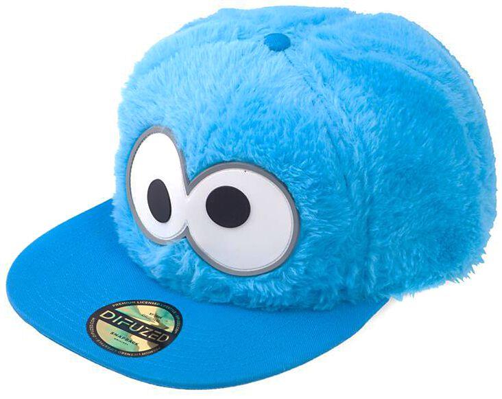 Sesamstraße Krümelmonster Cap blau SB523747 SES