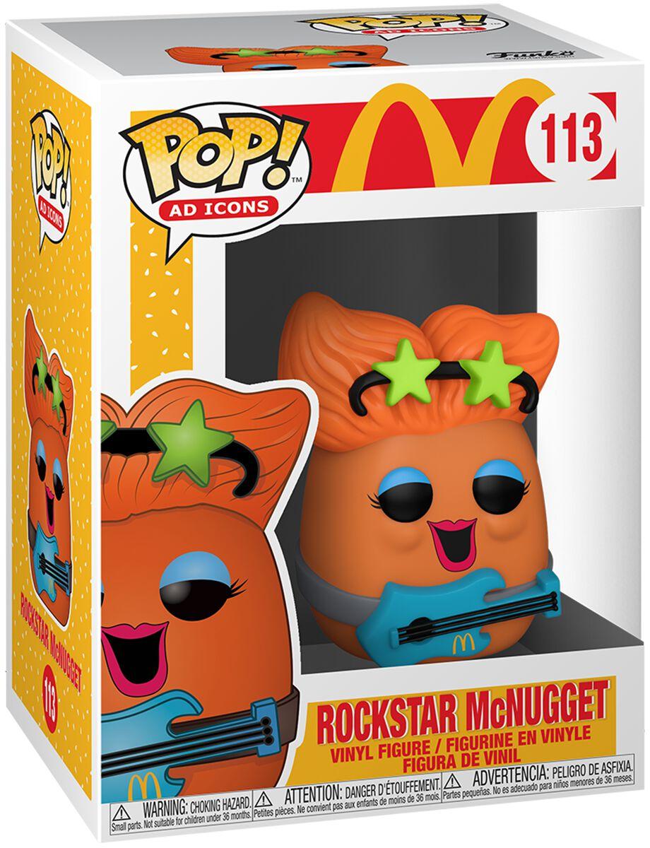 Mc Donalds Rockstar McNugget Vinyl Figur 113 Funko Pop! multicolor 52988