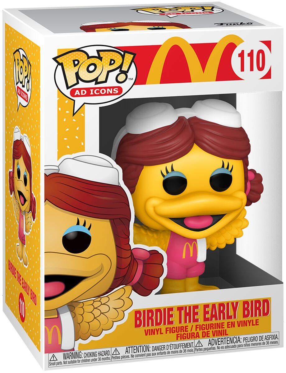 Mc Donalds Birdie The Early Bird Vinyl Figur 110 Funko Pop! multicolor 52992