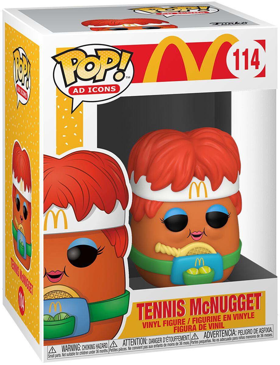 Mc Donalds Tennis McNugget Vinyl Figur 114 Funko Pop! multicolor 53712
