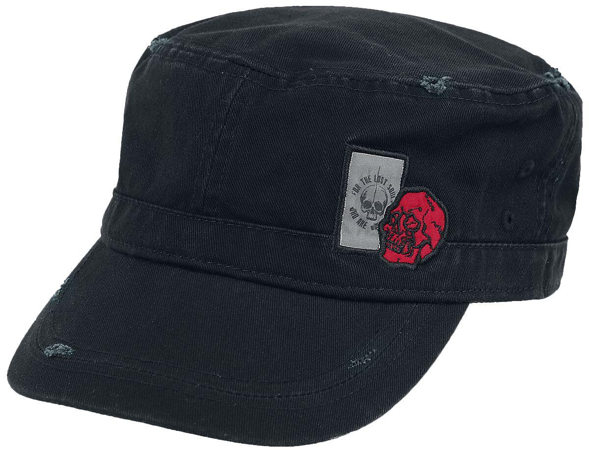 Image of Black Premium by EMP Schwarze Army Cap Army-Cap schwarz