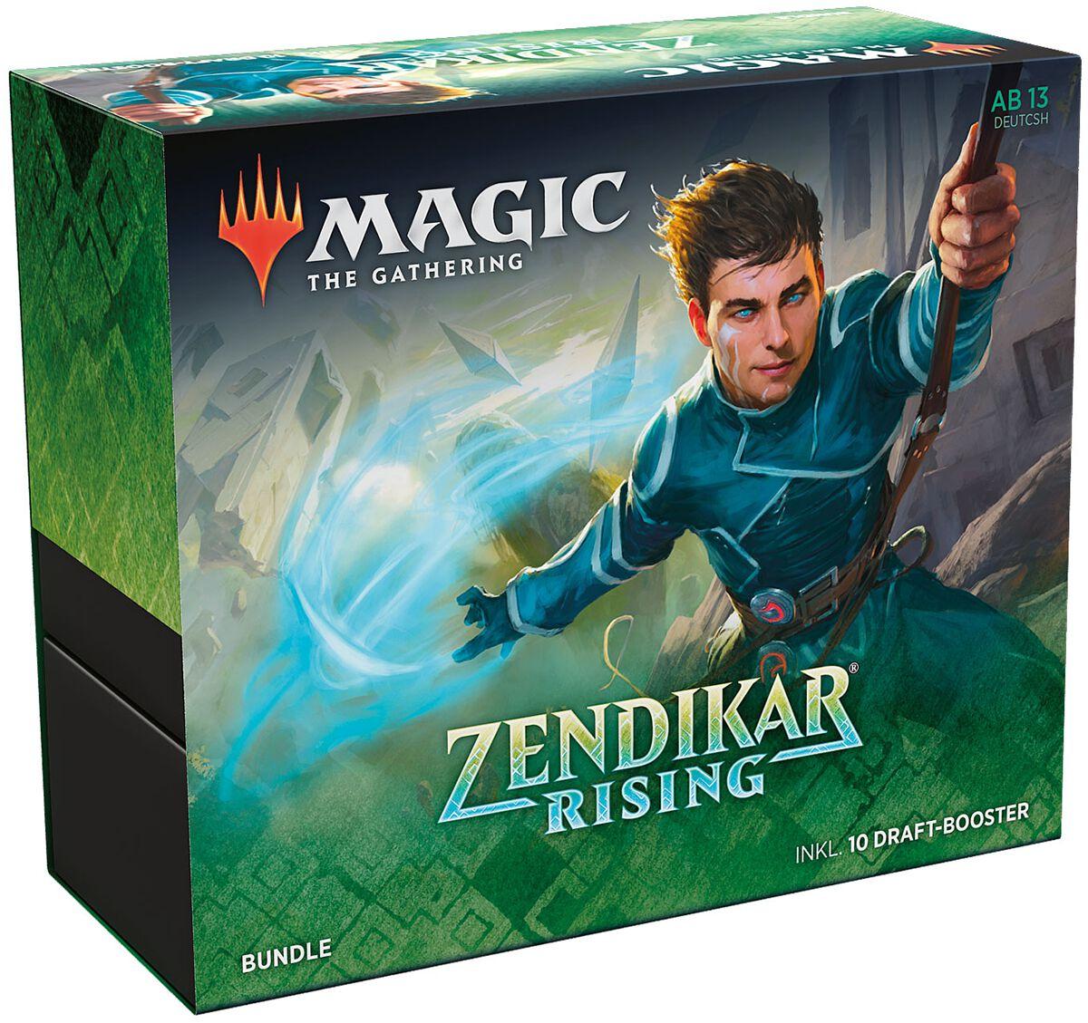 Magic: The Gathering  Zendikar Rising - Bundle deutsch  Kartenspiel  Standard