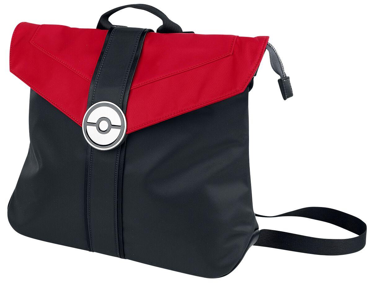 Pokémon Pokeball Rucksack rot schwarz M410691