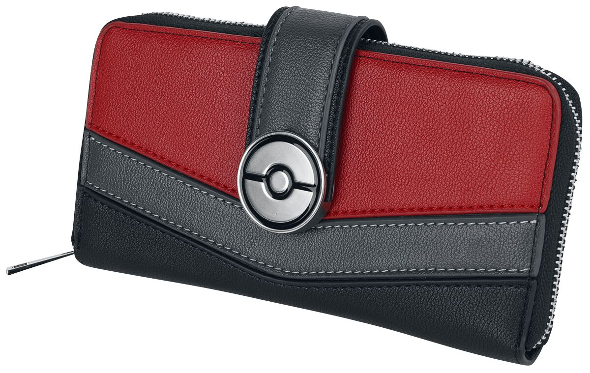 Pokémon Pokeball Geldbörse schwarz rot M410692