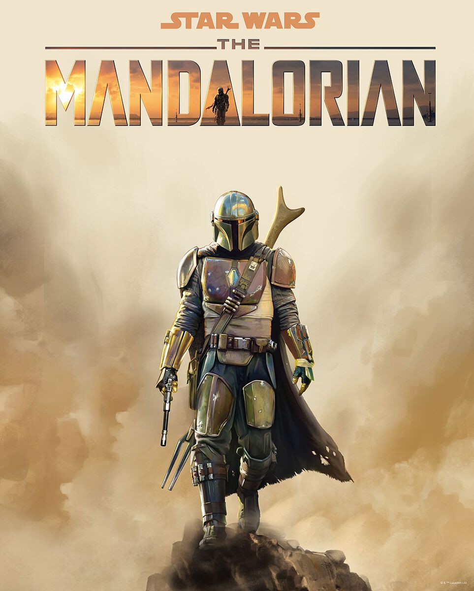 Star Wars The Mandalorian - Movie Poster powered by EMP