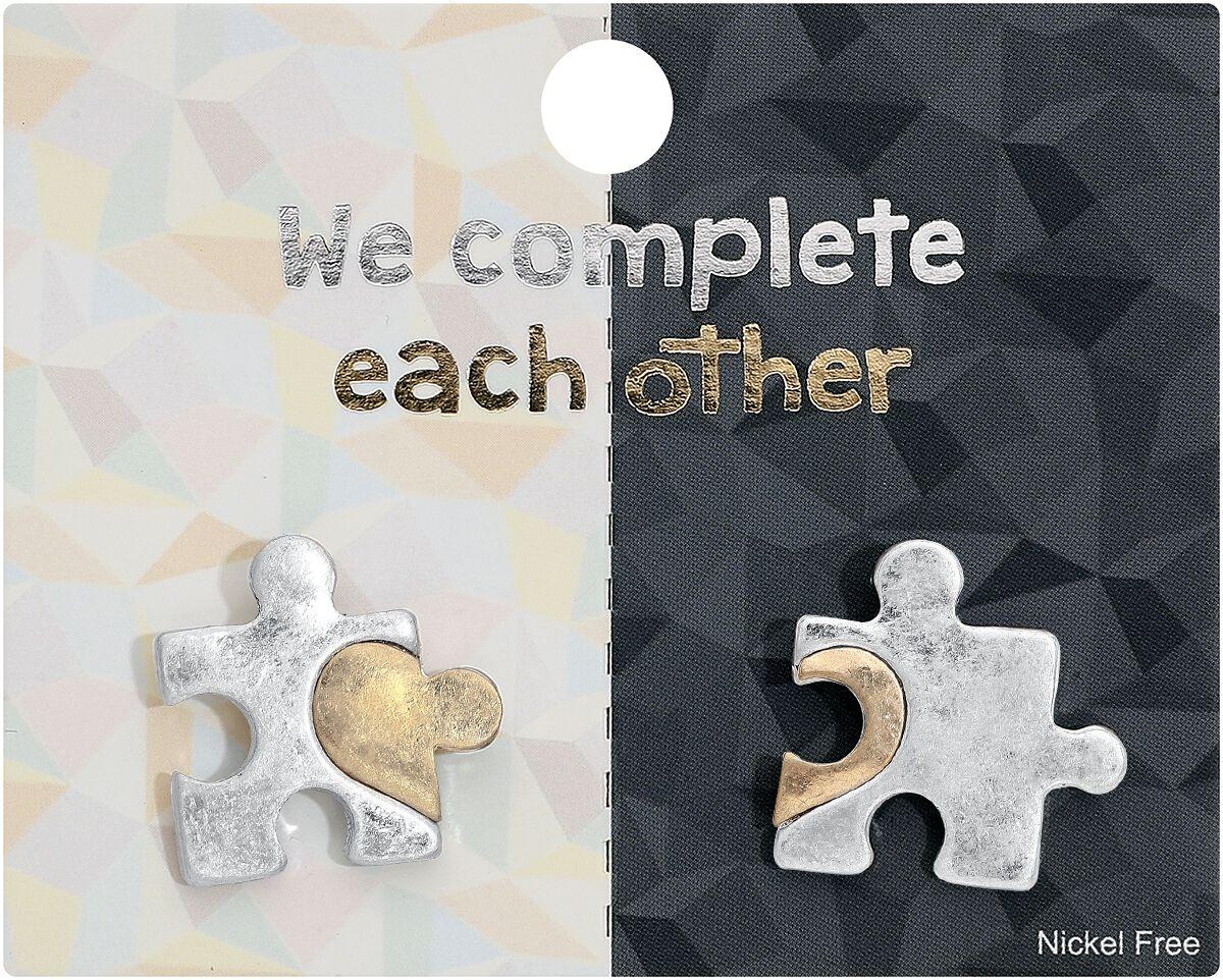 Blackheart Puzzle Pin multicolor SP1217034