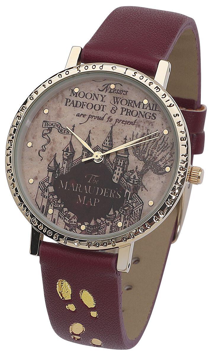 Harry Potter - Karte des Rumtreibers - Armbanduhren - silberfarben