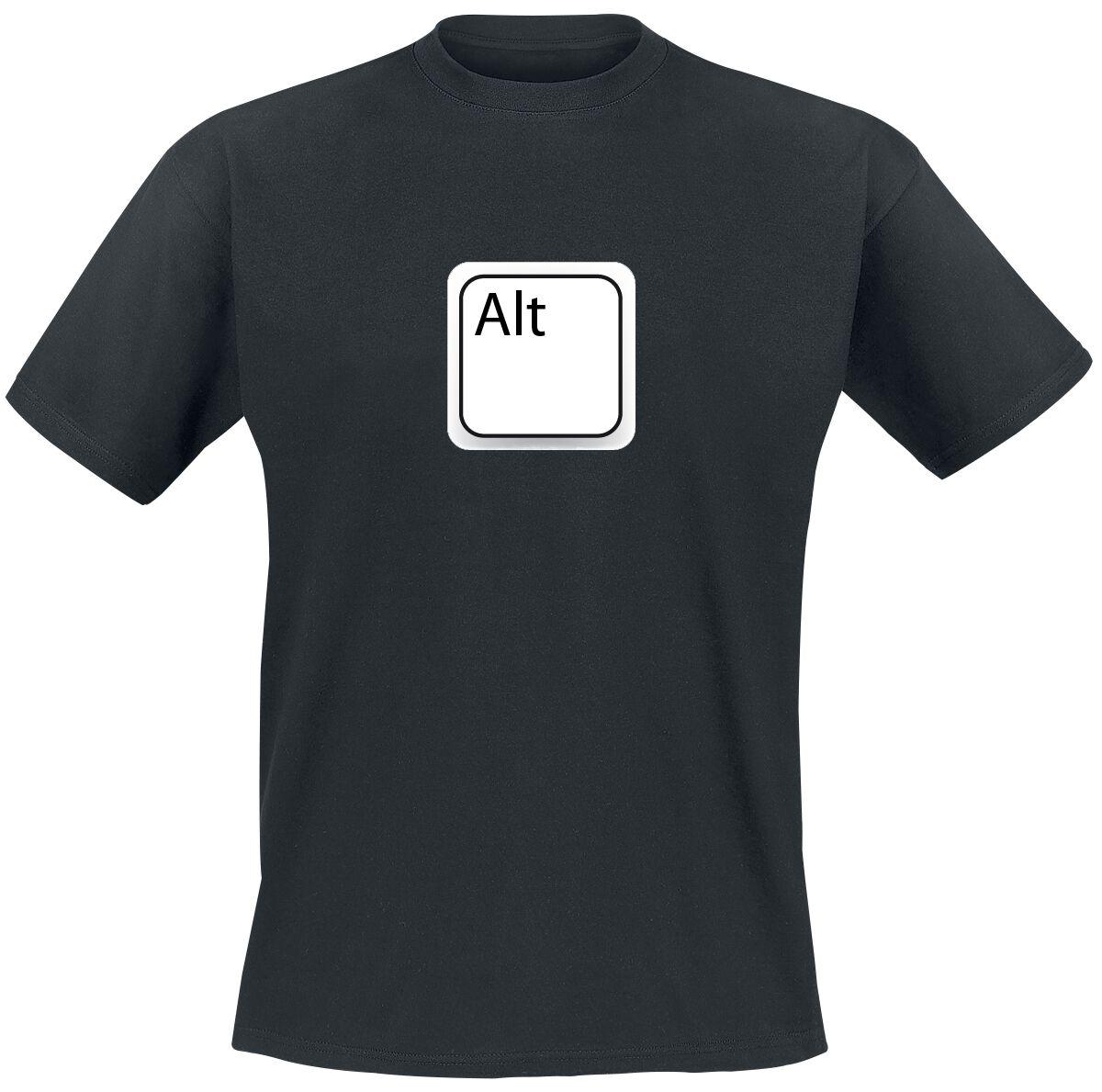 Image of Alt T-Shirt schwarz