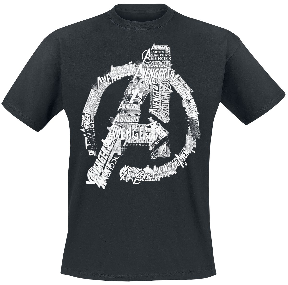 Avengers Logo powered by EMP