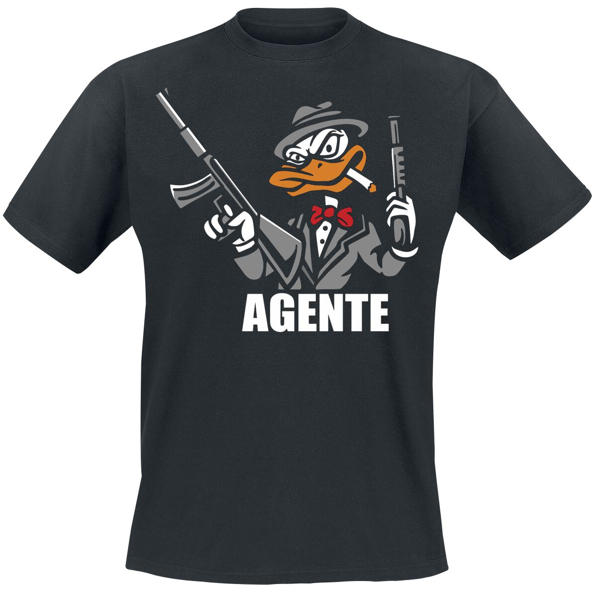 Image of Agente T-Shirt schwarz