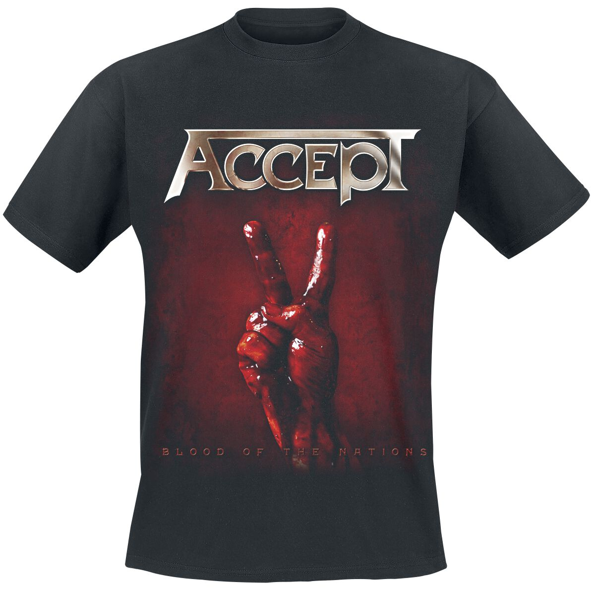 Image of Accept Blood of the nations T-Shirt schwarz