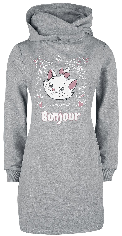 Image of Aristocats Bonjour Kapuzenkleid grau meliert