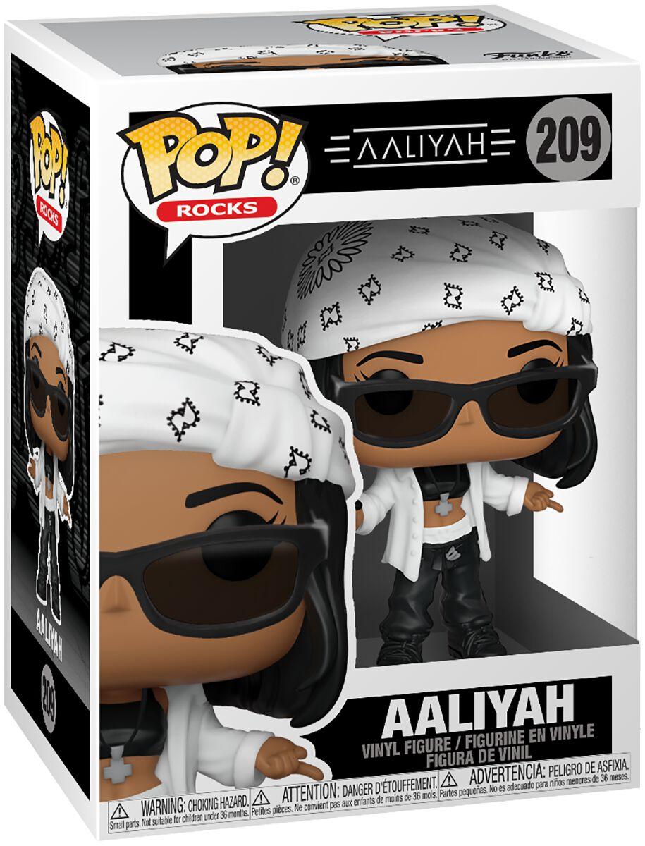 Aaliyah Aaliyah Rocks Vinyl Figur 209 Funko Pop! multicolor 54476