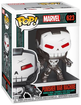 The Punisher Punisher War Machine Vinyl Figur 623 Funko Pop! multicolor 47374EXCL