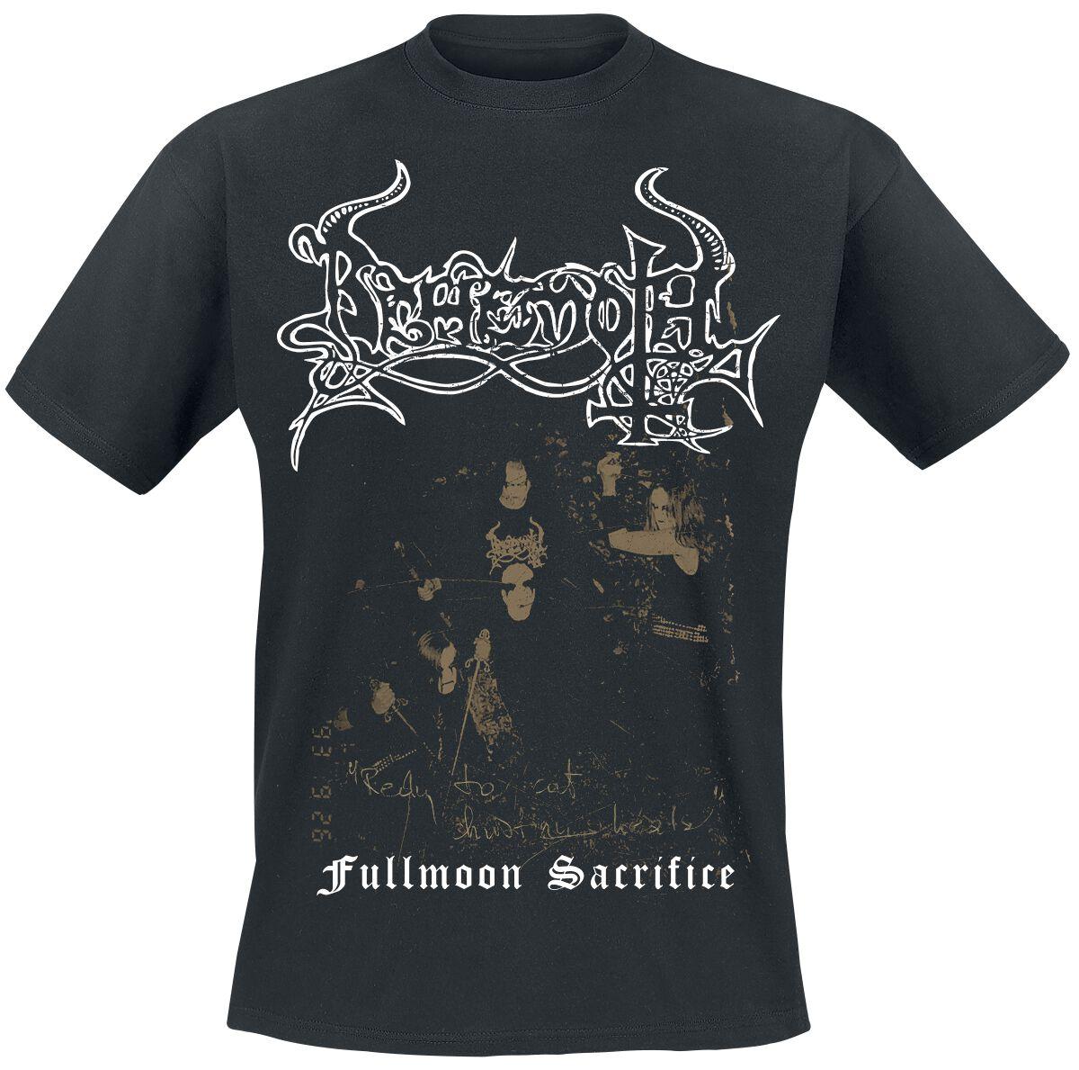 Image of Behemoth Fullmoon Sacrifice T-Shirt schwarz
