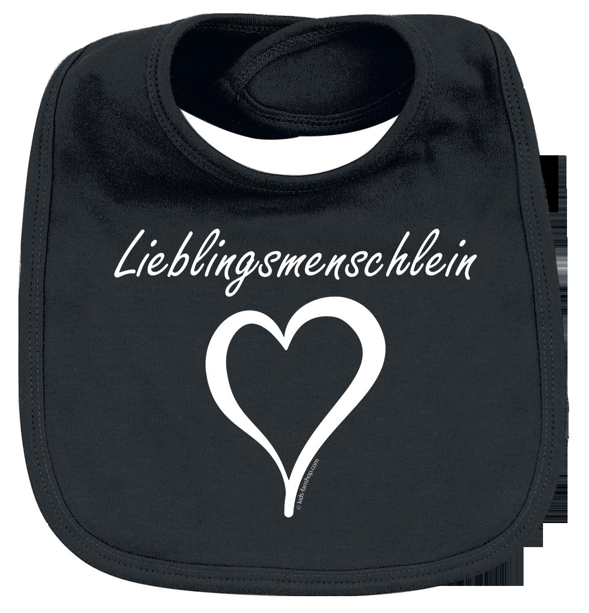 Metal Kids - Lieblingsmenschlein - Lätzchen - schwarz