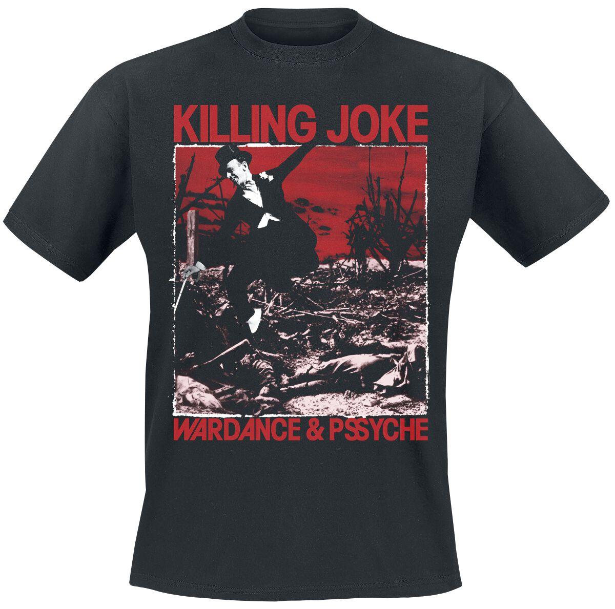 Killing Joke Wardance & Pssyche  T-Shirt  schwarz