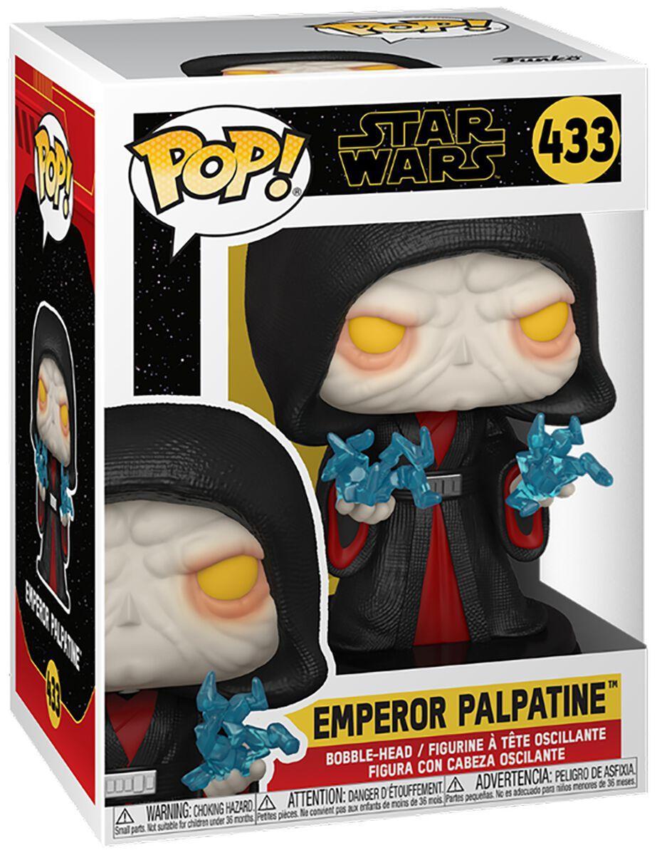 Star Wars The Rise of the Skywalker - Emperor Palpatine Vinyl Figur 433 Funko Pop! multicolor 51483