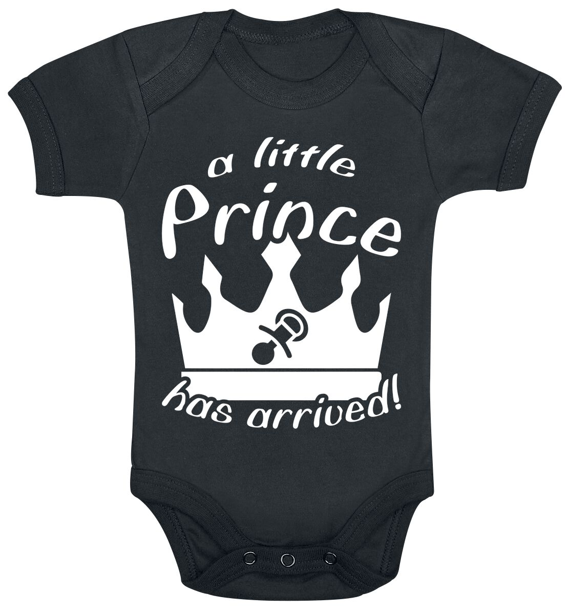 Image of A Little Prince Has Arrived! Body schwarz