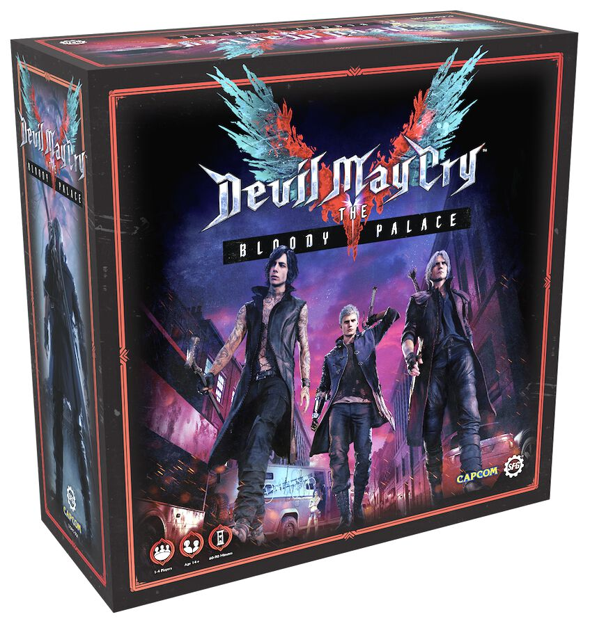 Image of Devil May Cry The Blood Palace Board Game Brettspiel Standard