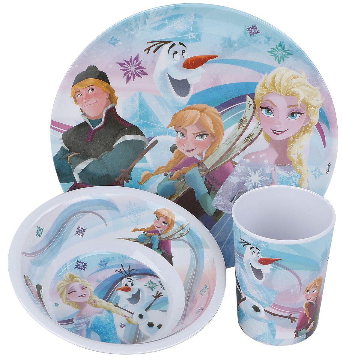 Die Eiskönigin Frühstücksset Frühstücks-Set multicolor 23873