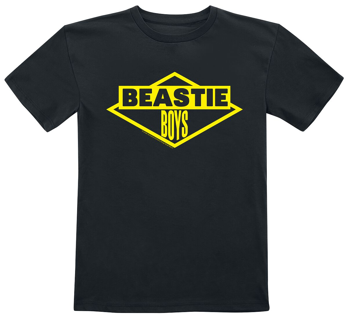 Image of Beastie Boys Logo Kinder-Shirt schwarz