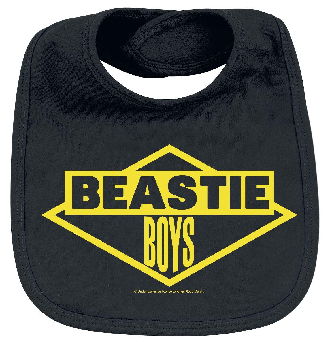 Image of Beastie Boys Logo Baby Lätzchen schwarz