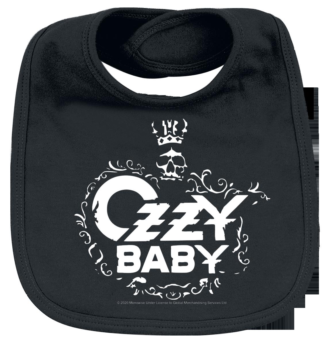 Ozzy Osbourne - Ozzy Baby - Lätzchen - schwarz