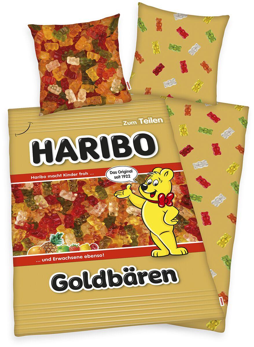 Haribo Goldbären  Bettwäsche  multicolor