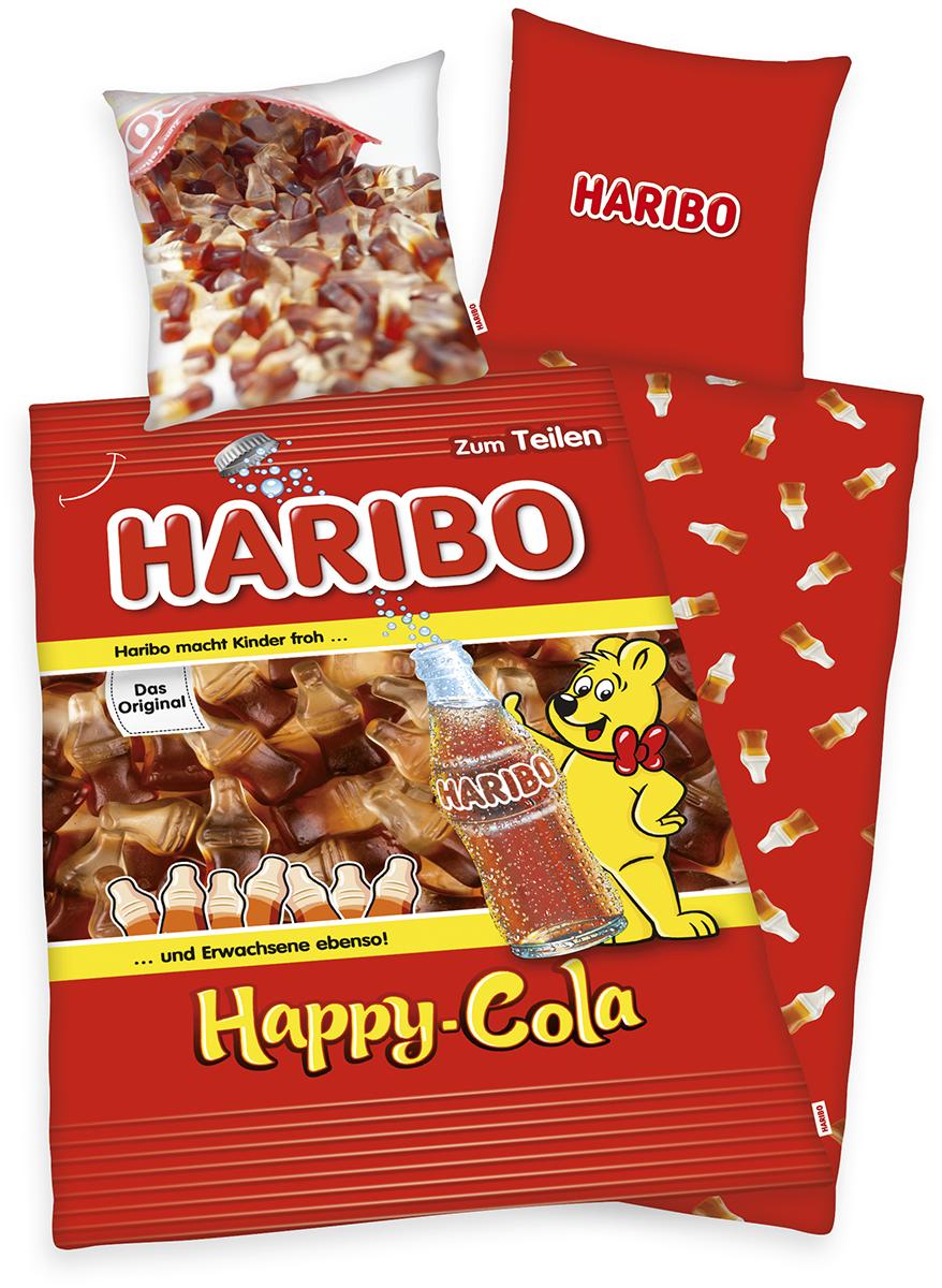 Haribo - Happy Cola - Bettwäsche - multicolor