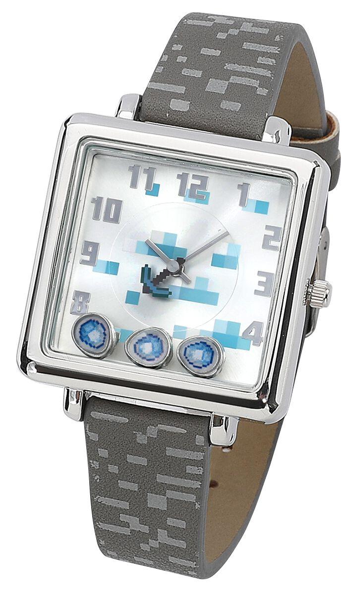Minecraft Minecraft Armbanduhren grau MIN5001MP