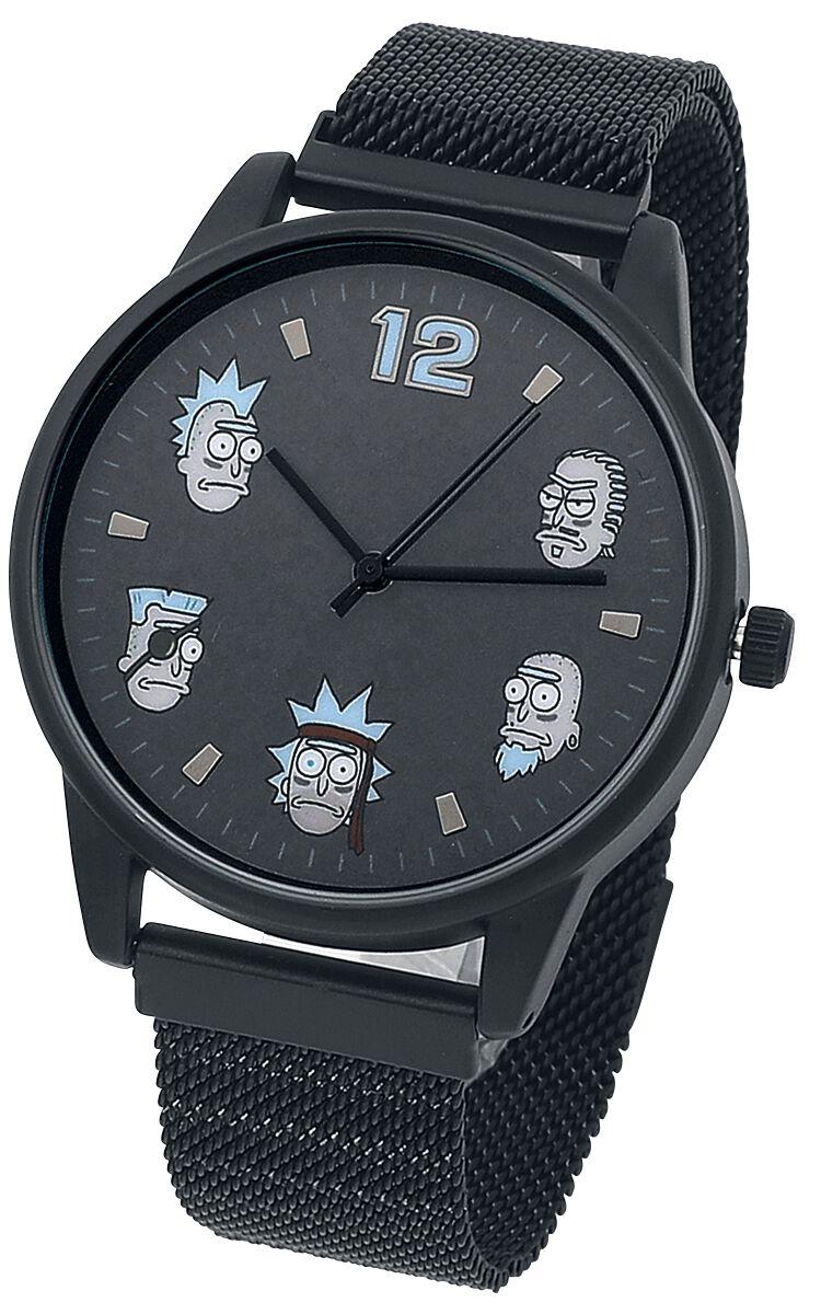 Rick And Morty Characters  Armbanduhren  silberfarben