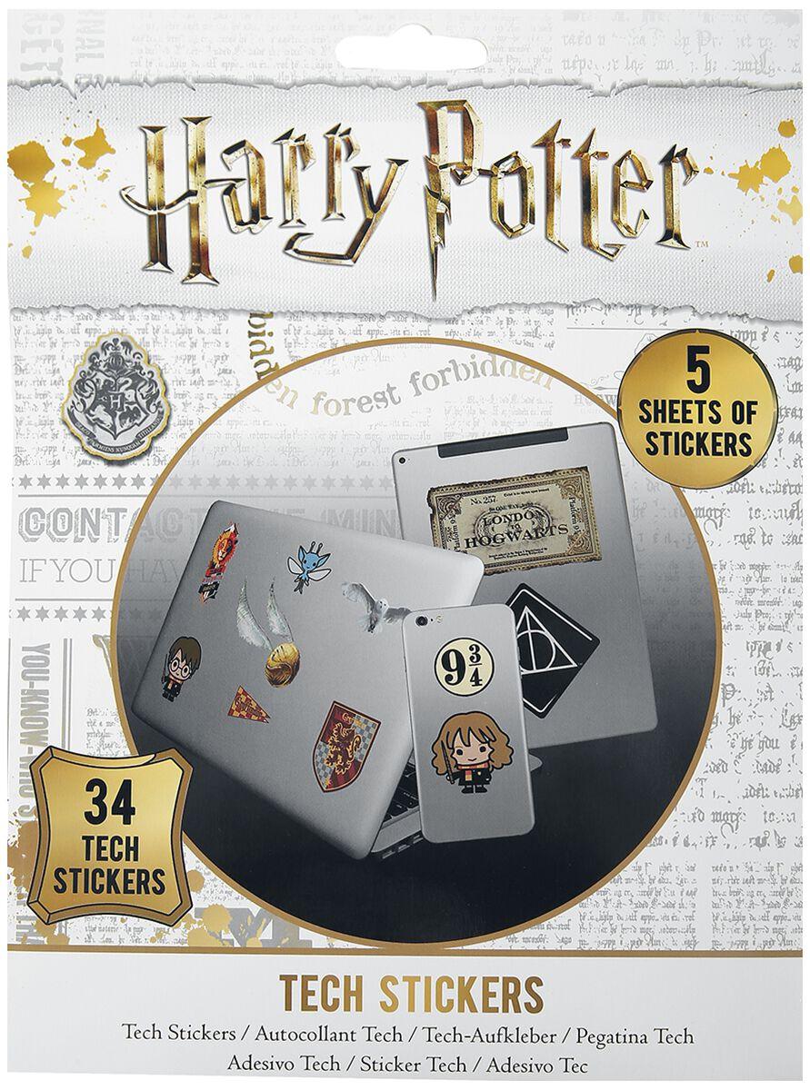 Image of Harry Potter Artefacts Aufkleber-Set multicolor