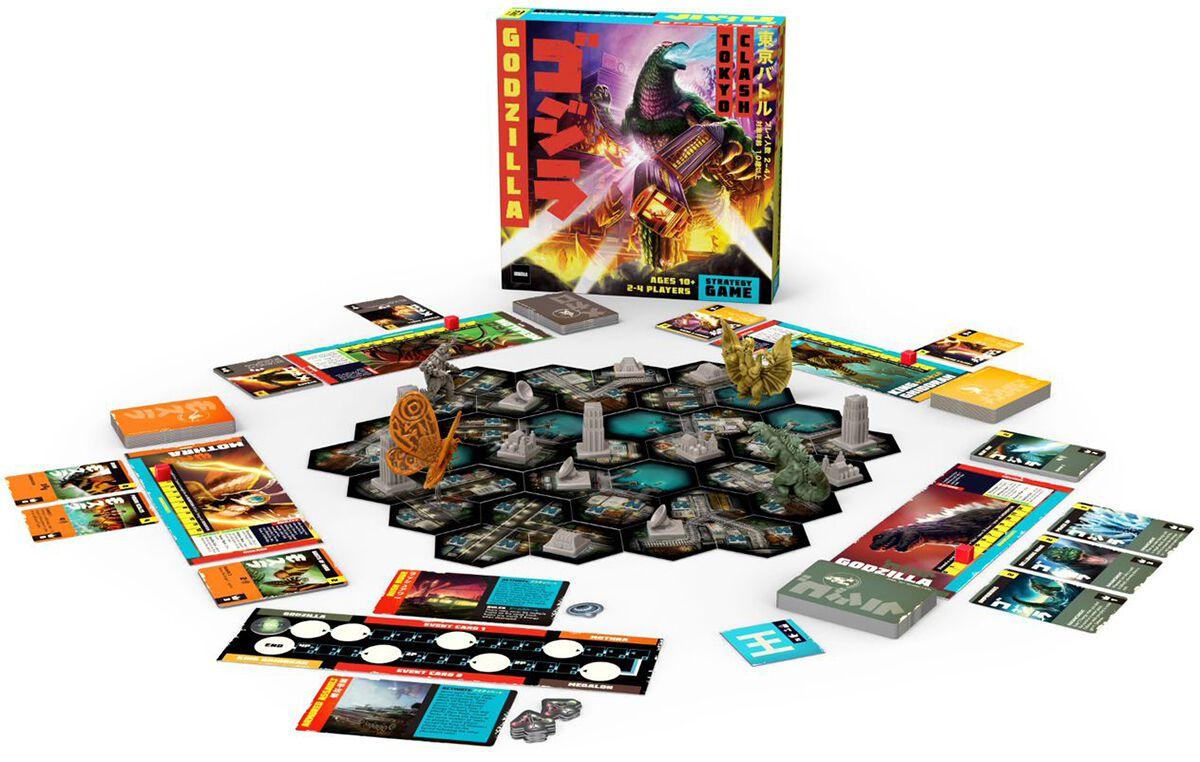 Image of Godzilla Tokyo Clash Brettspiel Standard