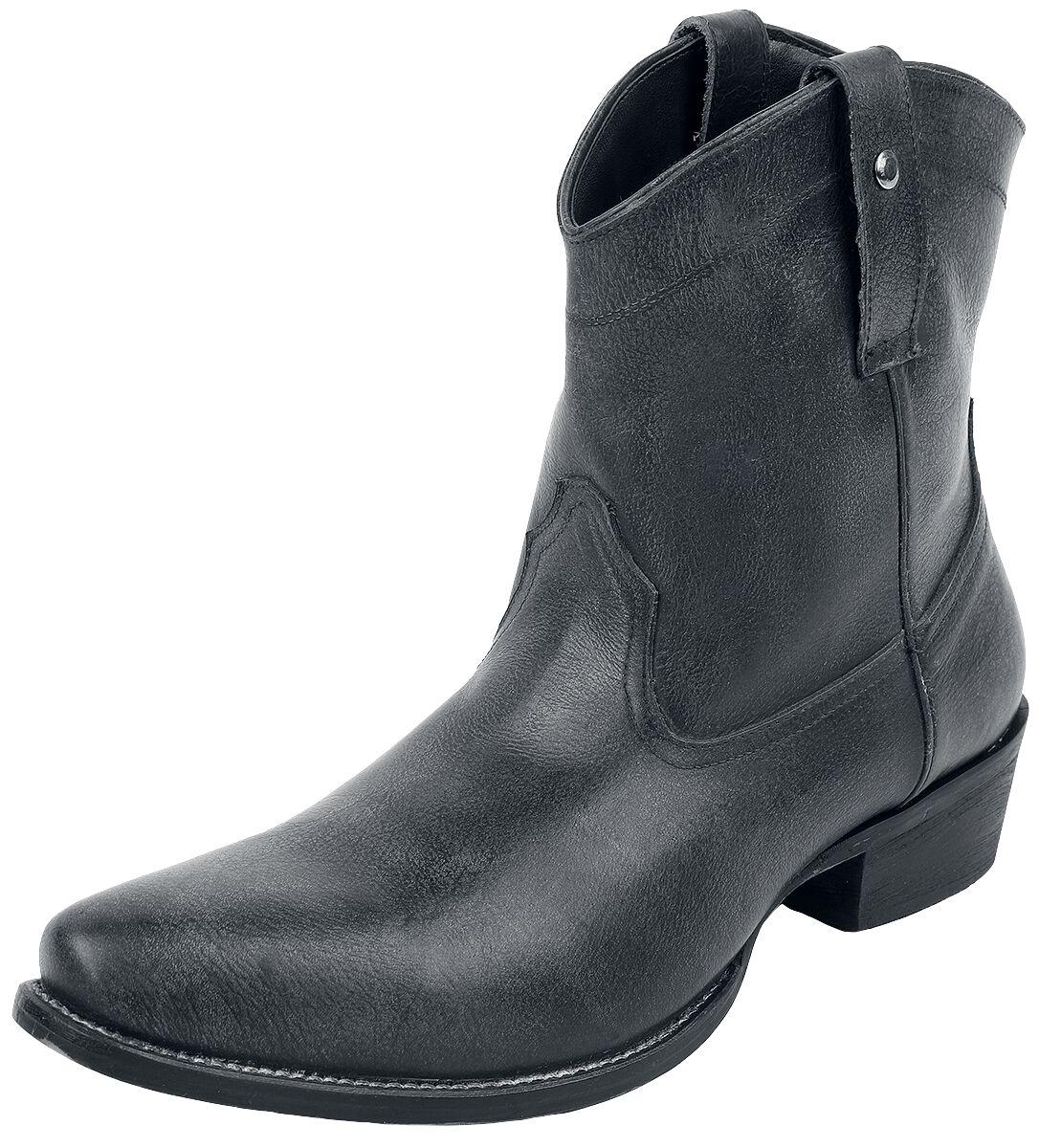 Rock Rebel by EMP Dunkelgraue Cowboy-Boots Boot dunkelgrau Q321-000029 M436280