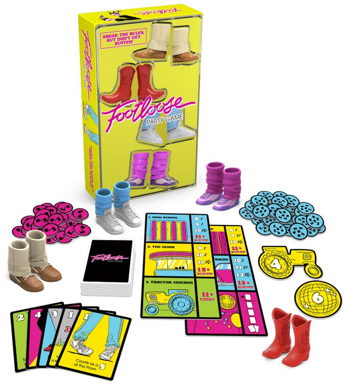 Image of Footloose Party Game Brettspiel Standard