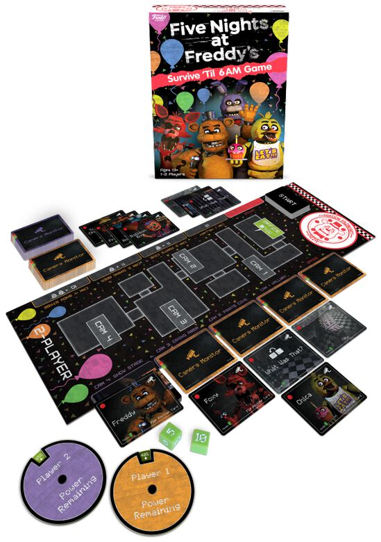 Image of Five Nights At Freddy's Survive Brettspiel Standard