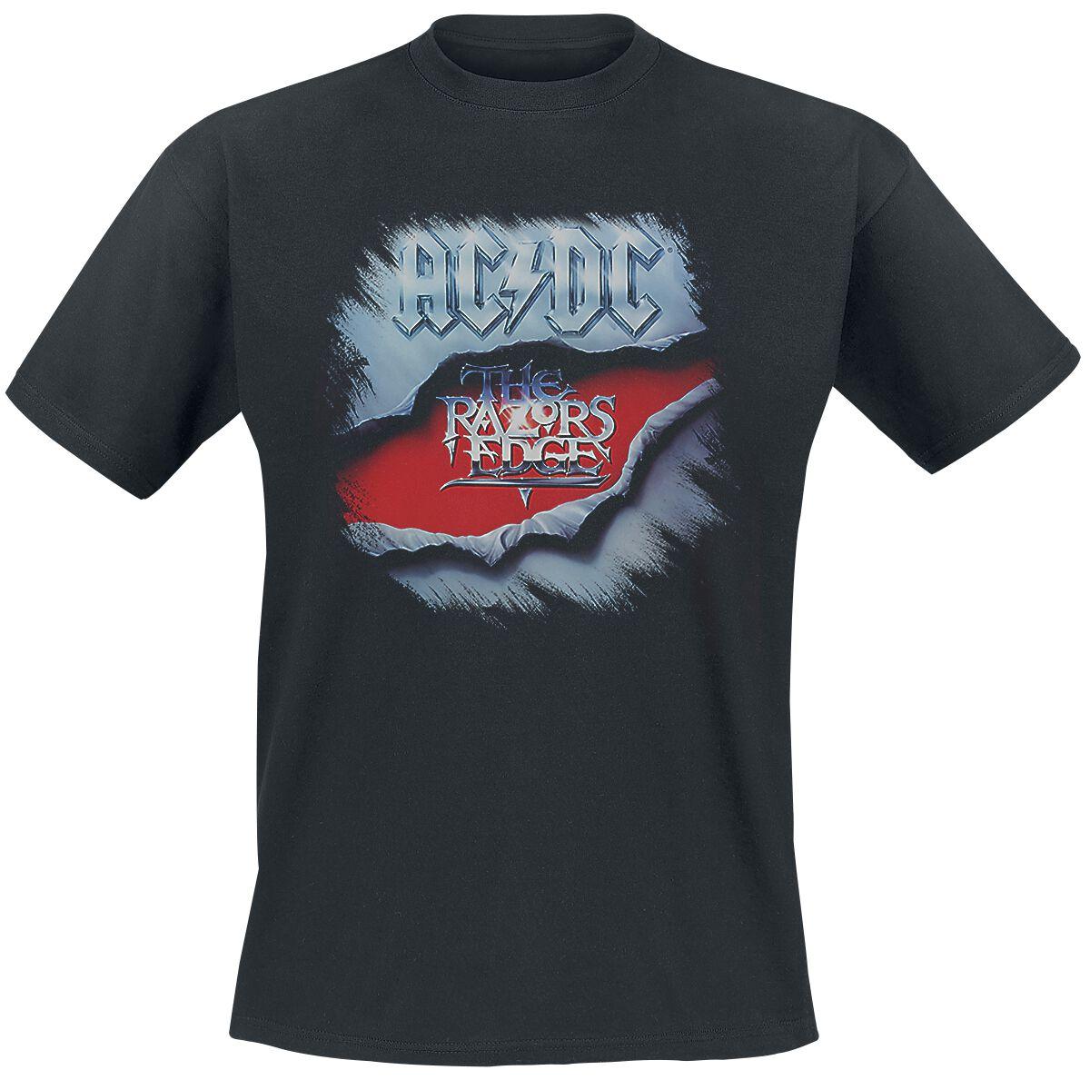 AC/DC Razors Edge  T-Shirt  schwarz