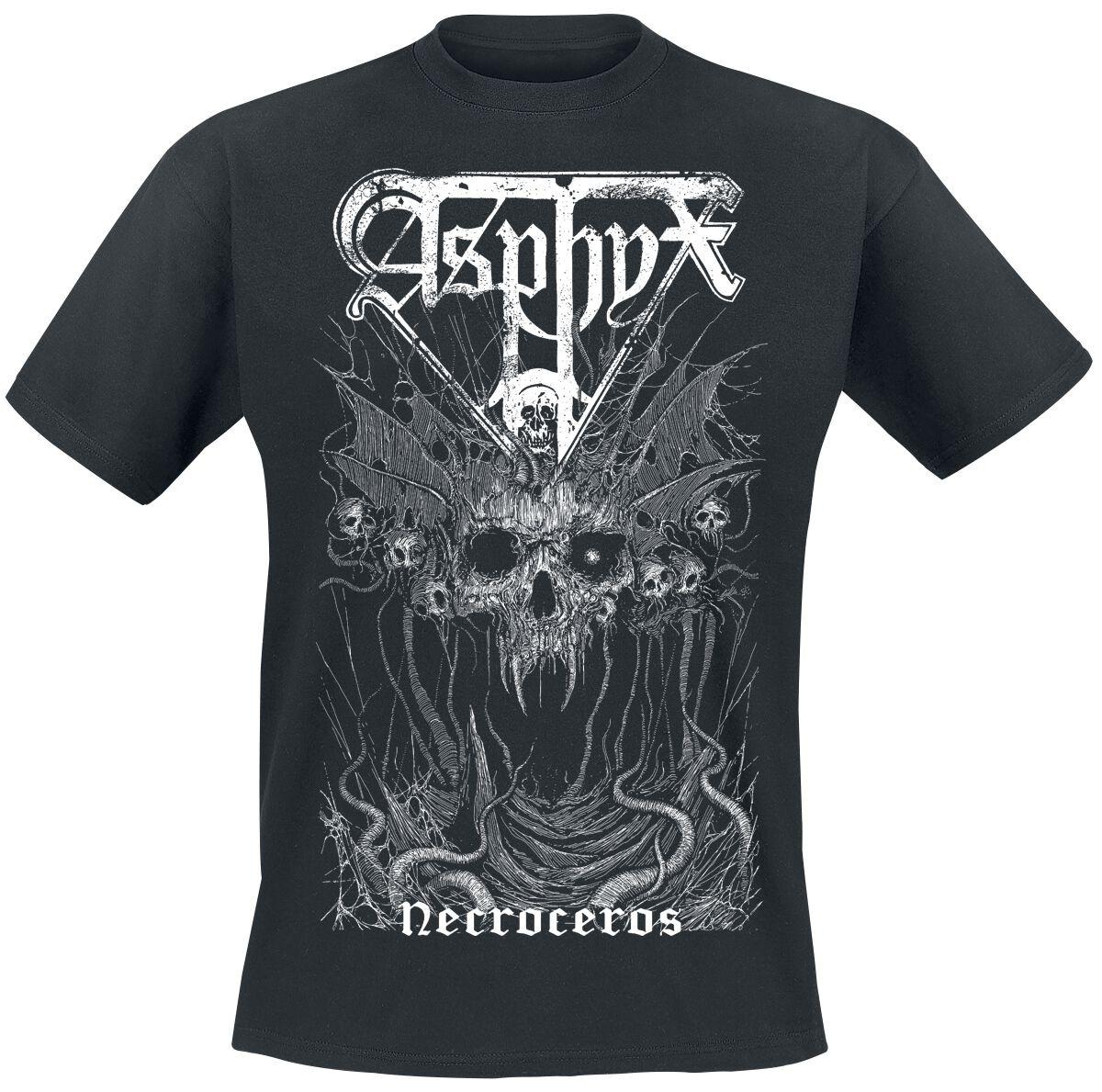 Image of Asphyx Necroceros Doominator T-Shirt schwarz