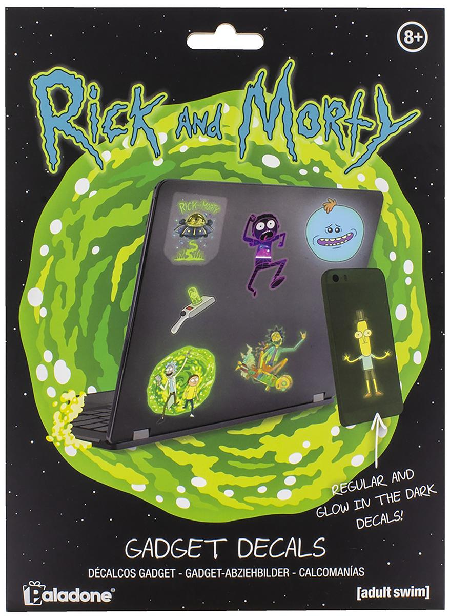 Rick And Morty - Sticker-Set - Aufkleber - multicolor